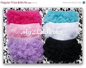 Choose 2 Chiffon Ruffle Bum Baby Bloomers- Steal of a Deal -Photo Prop- 20 Colors  to Choose From- MY2Lilpixie