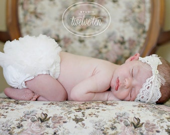 SALE- Chiffon Ruffle Bum Baby Bloomer Diaper Cover -Photo Prop- 20 GREAT COLORS to choose from- My2lilPixies