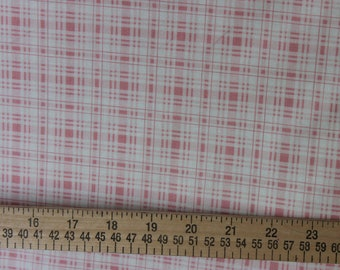 Pretty Pink Plaid Penelope   LH11051PNK Lakehouse Dry Goods French Fabric