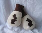 The Reid Rabbit Mittens