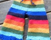 Rainbow Longies made to order any size custom