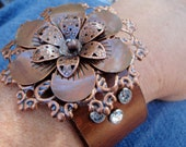 CoPPeR BoHO FLoWeR CuFF