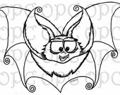 Digital Stamp Bartholomew Bat