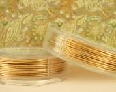 Non Tarnish Gold Color Artistic Wire - You Pick Gauge 10, 12, 14, 16, 18, 20, 22, 24, 26, 28, 30, 32 – 100% Guarantee