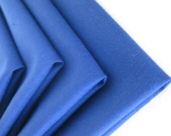 Cloth Napkins - Persian Blue - 100% Cotton