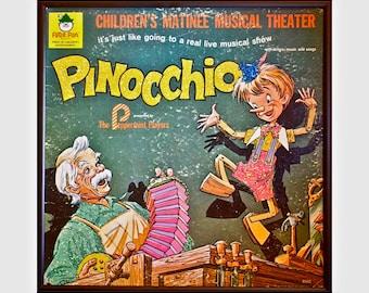 Glittered Pinnocchio Album