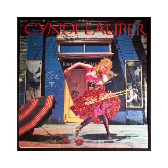 Glittered Cyndi Lauper Album Shes So Unusual