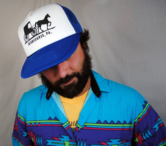 Intercourse, Pennsylvania 80s Trucker Snapback Hat