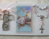 Baby Baptism Rosary -Gift-Boy or Girl - Crib Cross