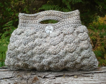 Shell Stitch Bag - PA-131a - Crochet Pattern PDF