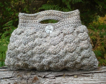 Crochet Pattern PDF - Shell Stitch Bag - PA-131a