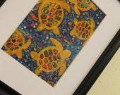 8x10 Sea Turtles high quality print of original art
