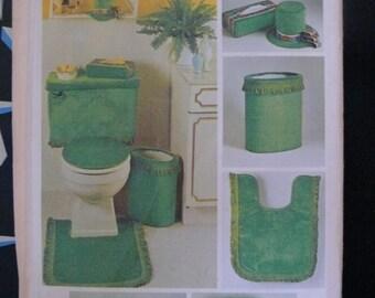 simplicity pattern bathroom accessories 1973