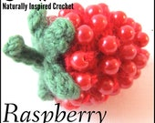 Raspberry Crochet Pattern PDF