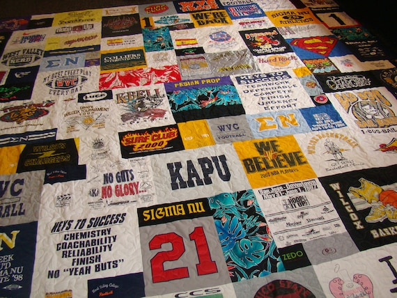jnikfar Custom Tshirt Quilts