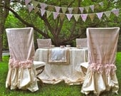 Pink Garden Chair Cover - PaulaAndErika