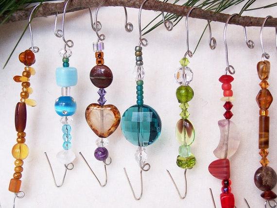 Beaded Ornament Hangers / B30