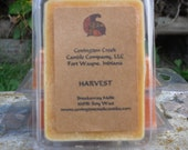 Harvest Pure Soy Covington Creek Candle Company  Breakaway Melt. Great for Scentsy or Tea Light Warmers