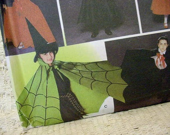 Childs Halloween Costume Pattern Simplicity 5927 Sm Md Lrg Cape,Robe,Headpieces NEW