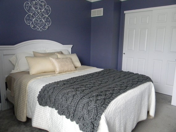 big chunky cable knit blanket pattern only permission to. Black Bedroom Furniture Sets. Home Design Ideas
