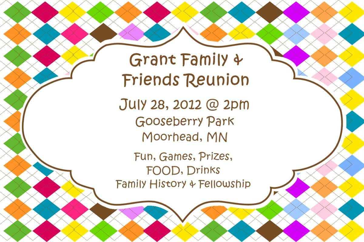 Reunion Invitation Sample A Sample Invitation for the Family – Family Gathering Invitation Wording