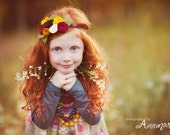 Fall Felt Flower Headband - M2M Matilda Jane for the Character Counts Collection