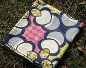 African Wax Cotton Print Fabric - Ankara Fabric - Water Chestnuts - Fat Quarter