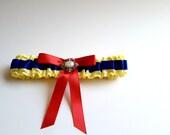 Snow White Inspired Wedding Garter