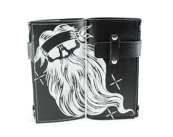 Beardo Biker Wallet - Rugged Vinyl Wallet - Plenty of room for the long road ahead