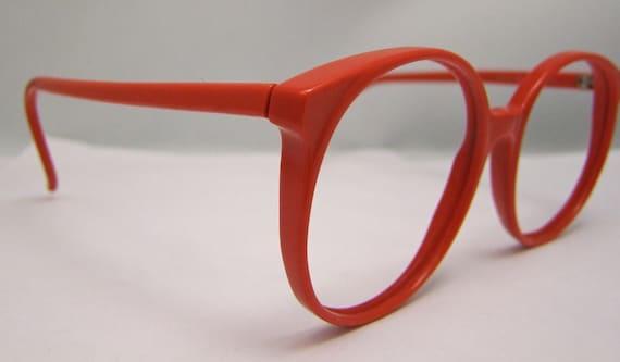 1980s Galactic Cherry Red   Vintage eyeglasses