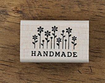 Handmade stamp with Flowers, U3351