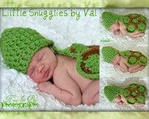 SAVE NOW Newborn Turtle Photo Prop Set