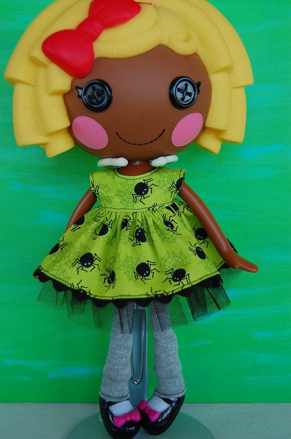 Spider Dress for LalaLoopsy