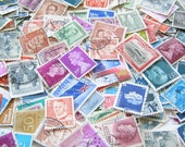 Vintage Postage Stamps - Old Stamps - Paper Stamps - Stamp - Worldwide Stamps