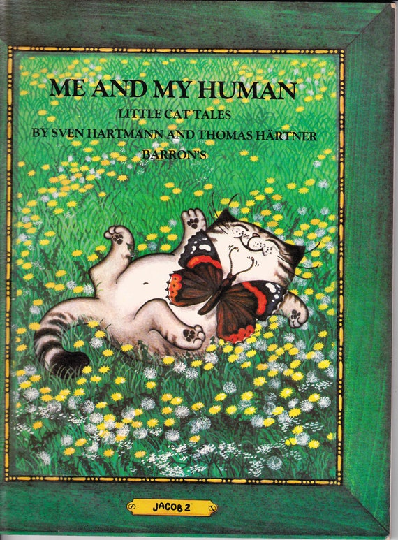 Vintage  1981  Me and my Human,  Little Cat Tales translated from German
