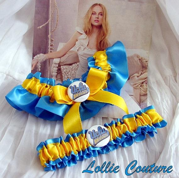 UCLA - 2 pc Set Bridal Garters