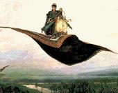 Cross Stitch Pattern PDF - The Flying Carpet BAP Counted Cross Stitch Pattern by Abracraftdabra
