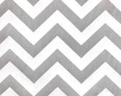 3/4 yard - Premier Prints Storm/Twill Zig Zag Chevron fabric