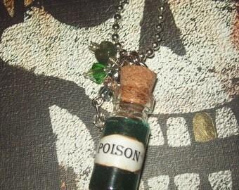Poison  / Mini Bottle Necklace no.19
