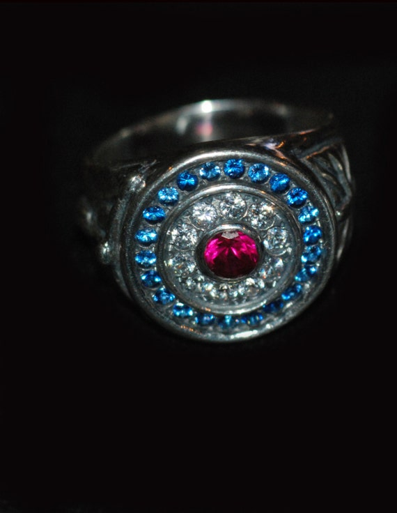 Target MOD ring with stones