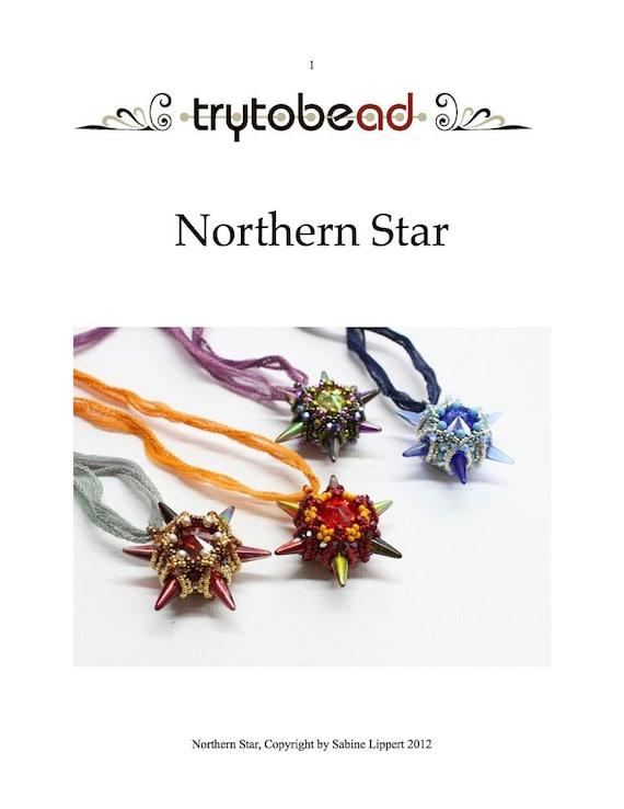 Northern Star Pendant Pattern PDF File
