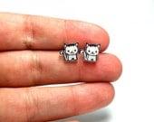 Lil' Kittens, Stud Earrings