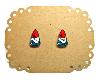 Lil' Gnomes, Stud Earrings