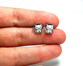 Lil' Kittens, Stud Earrings