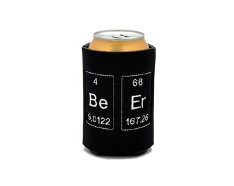 Periodic Table  Beer Cozy Neoprene