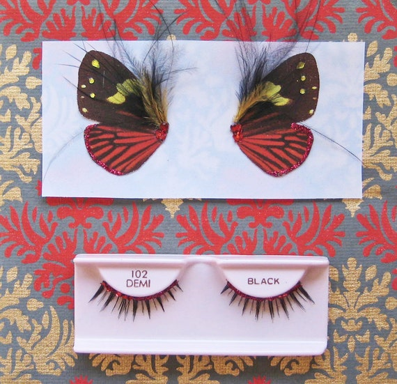 Red and Black Butterfly Eyes