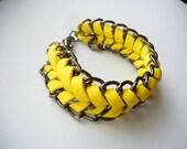 SALE SALE SALE Yellow Fishbone Friendship Bracelet