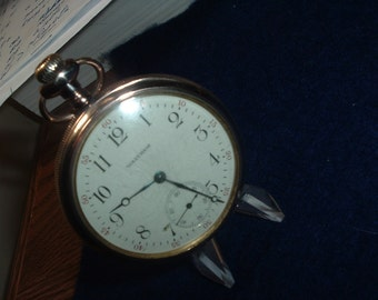 Waltham Equity 15 Jewels Double Hinged Case Pocket Watch