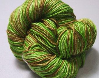 100% Pure Mulberry Lyba Silk Yarn 50 gram 4 Ply DK 017 Irish Moss