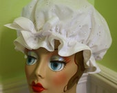 "Shower Cap Women's Waterproof Washable ""Eyelet"""